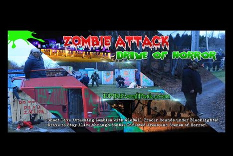 ZOMBIE ATTACK & HAUNTED DRIVE 10/21/17