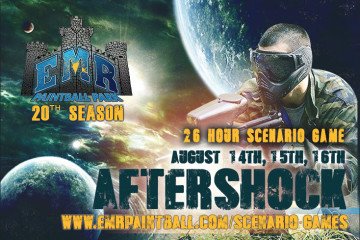 """""""AFTERSHOCK-26 Hour Scenario"""" Produced by Mark Maher of Team Spectre"""