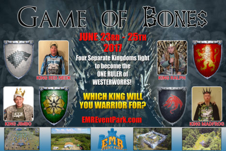 """GAME OF BONES"" Paintball Event"