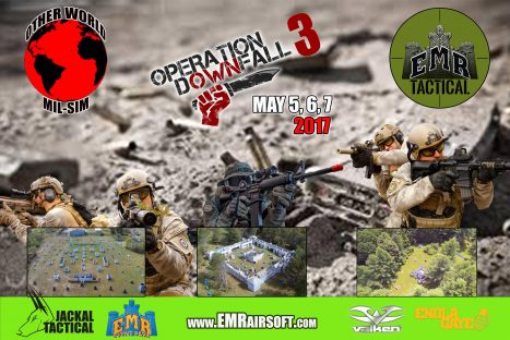 """OPERATION DOWNFALL III"" AIRSOFT Event"