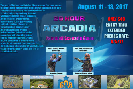 """ARCADIA PLAYER ONE"" 26 Hour Scenario"