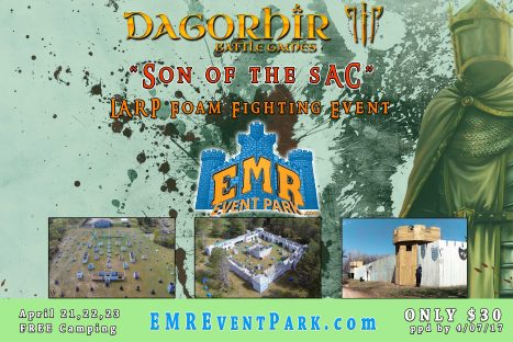 """SON OF THE SAC"" LARP Event"